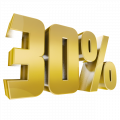 Online discount 30%