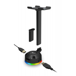 Cougar Bunker S RGB Headset Stand with Built-in USB Hub