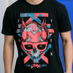 J!NX CYBER SKULLY-Black